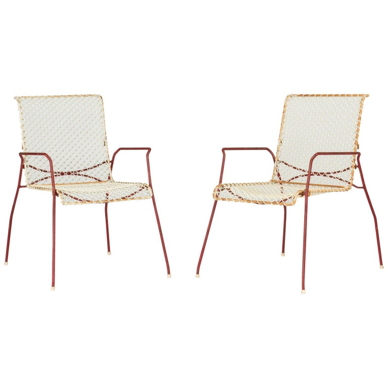 Pair of Garden Chairs from Grythyttan For Sale
