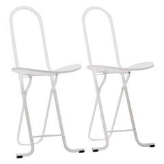 Pair of Gastone Rinaldi Dafne Folding Chairs