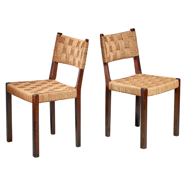 Pair of Gemla Chairs, Sweden, 1930s