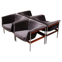 Pair of Geoffrey Harcourt Series No 042 Lounge Chairs, 1963