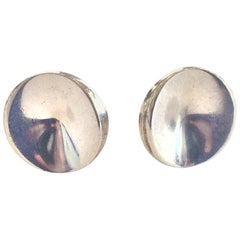 Pair of Georg Jensen cufflinks Design no. 74c by Nanna Ditzel