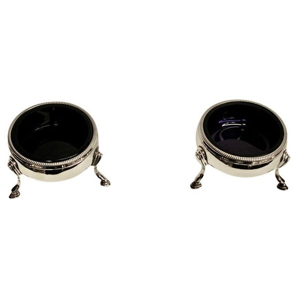 Pair Of George 111 Silver Salt Cellars,Thomas Sharratt,London,1784