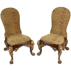 Pair of George II Style Side Chairs