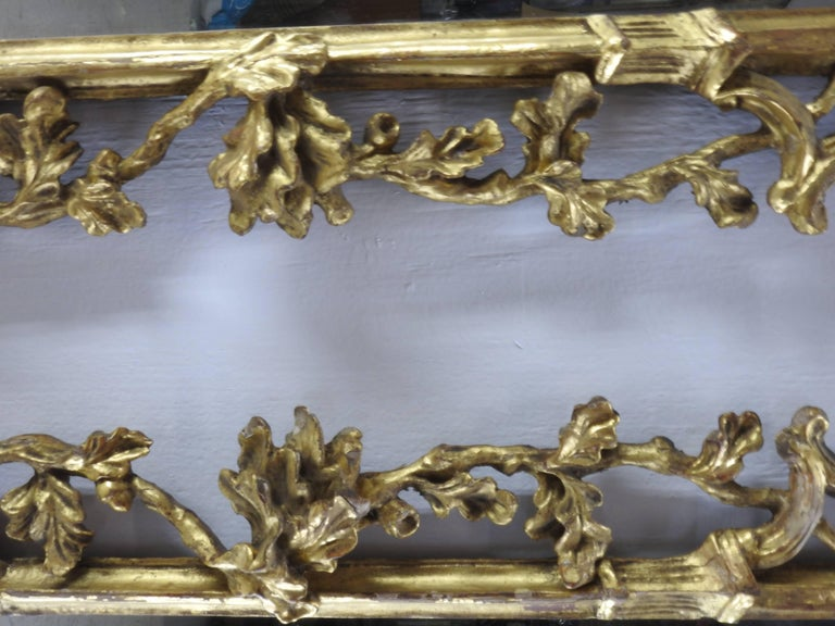 Pair of George III Bright Gilt Mirrors For Sale 1