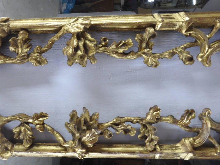Pair of George III Bright Gilt Mirrors For Sale 3