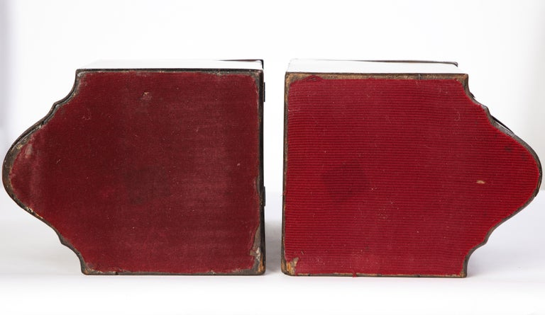 Pair of George III Inlaid Satinwood Cutlery Boxes, Late 18th Century For Sale 7