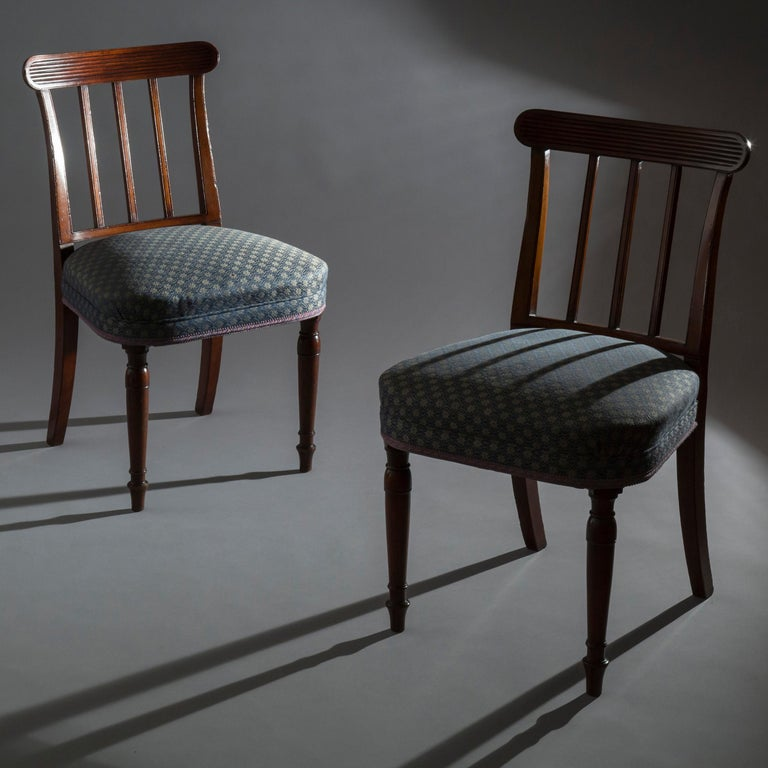 Pair of George III Regency Side Chairs In Good Condition For Sale In London, GB