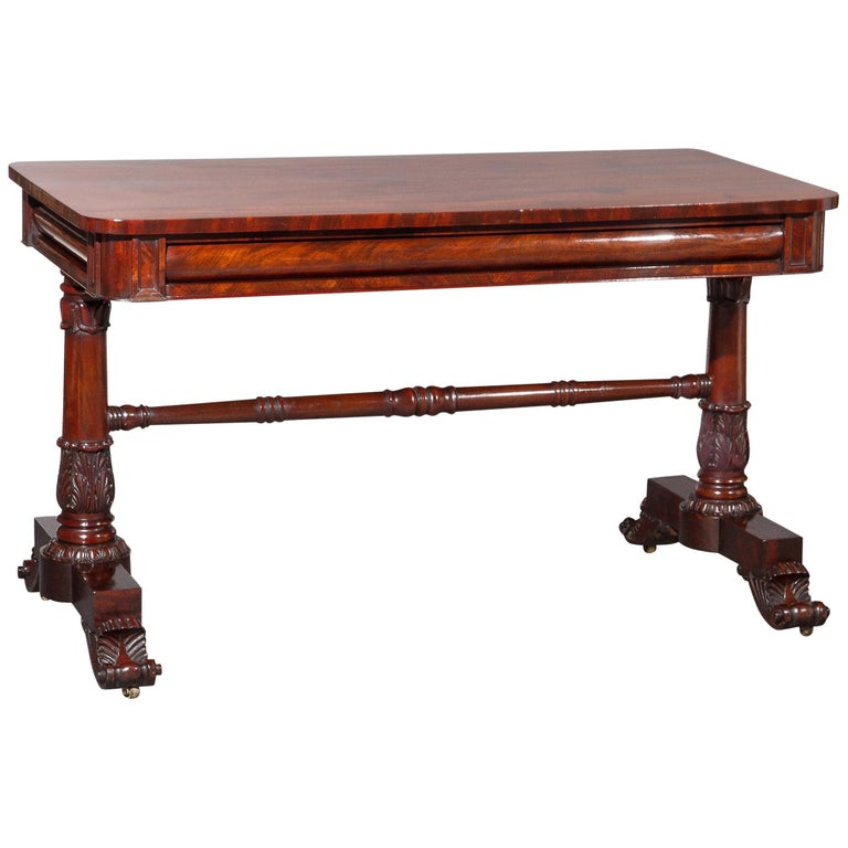 Pair of George IV/William IV Console Tables in the Style of Gillows For Sale
