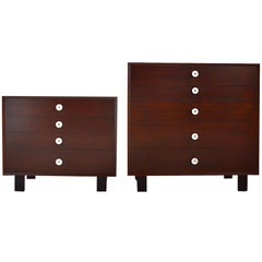 Pair of George Nelson Dressers by Herman Miller