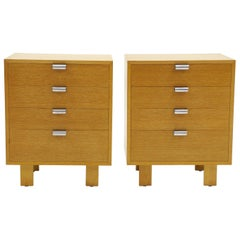 Pair of George Nelson Four-Drawer Dressers or Chests for Herman Miller