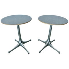 Pair of George Nelson Swag Leg Tables