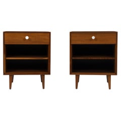Pair of George Nelson Thin-Edge Nightstands for Herman Miller