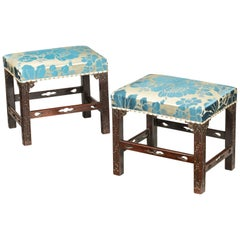 Chippendale Footstools