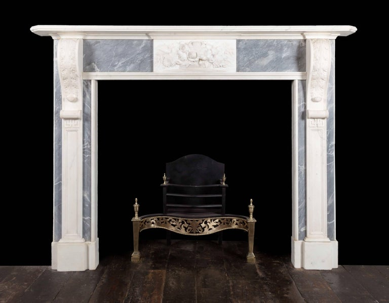 19th Century Pair of Georgian Fireplaces For Sale