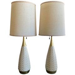 Pair of Gerald Thurston Lightolier Table Lamps