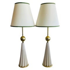 Pair of Gerald Thurston Table Lamps