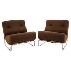 Pair of German Lounge Chairs, 1970