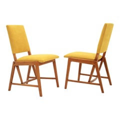 Pair of German Small Design Chairs, 1970s