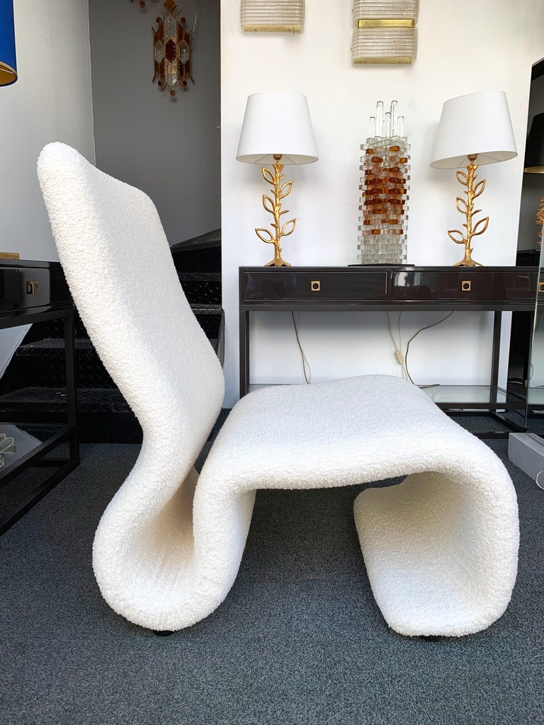 Pair of Ghost Armchairs. Italy, 1970s For Sale 3
