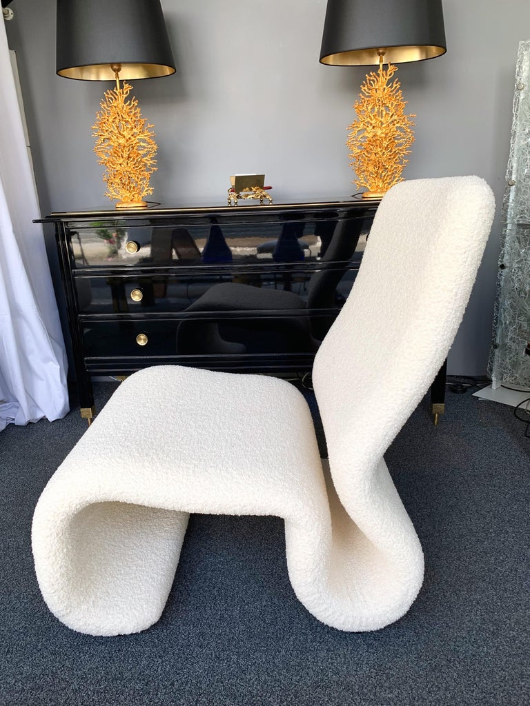 Pair of Ghost Armchairs. Italy, 1970s In Excellent Condition For Sale In SAINT-OUEN, FR