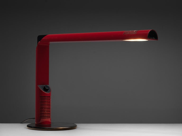 Pair of Gianfranco Frattini 'Abele' Desk Lamps For Sale 2