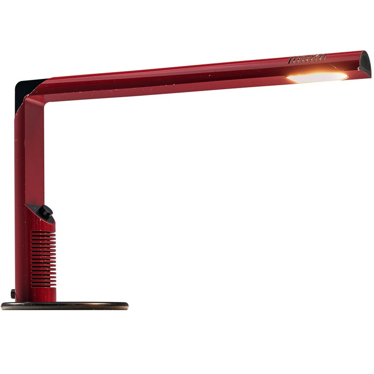 Pair of Gianfranco Frattini 'Abele' Desk Lamps For Sale