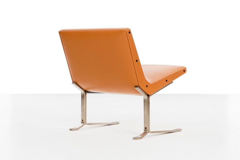 Pair of Gianni Moscatelli Lounge Chairs For Sale 2