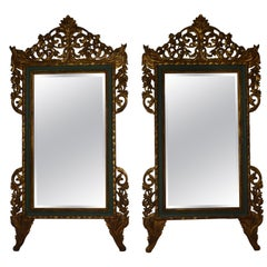 Pair of Over Size Italian Wall Mirror