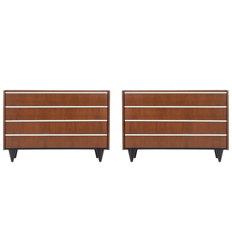 Pair of Gilbert Rohde for Herman Miller Dressers