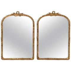 Pair of Gilt French Mirrors