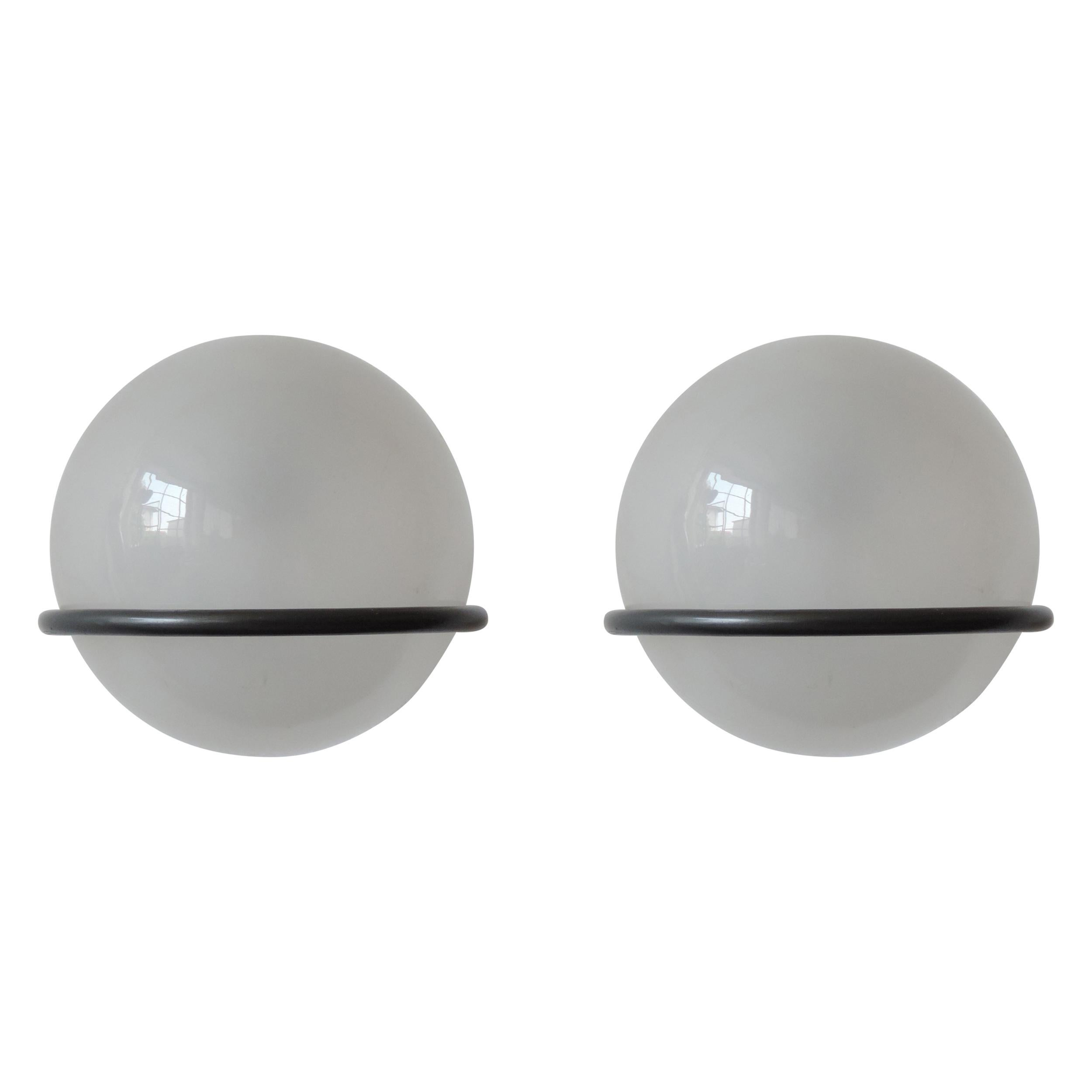 Pair of Gino Sarfatti 239/1 Wall Lamps for Arteluce, Italy, 1960s