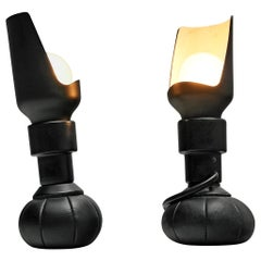 Pair of Gino Sarfatti for Arteluce Playful Table Lamps 600C