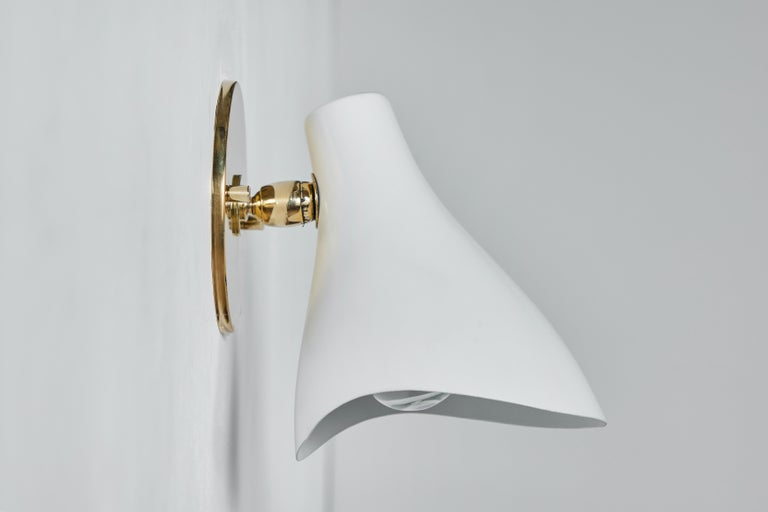 Pair of Gino Sarfatti Model #10 Sconces for Arteluce For Sale 2