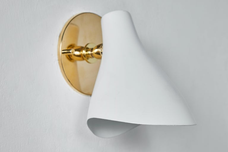 Pair of Gino Sarfatti Model #10 Sconces for Arteluce For Sale 3