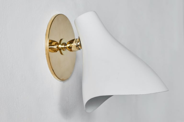Pair of Gino Sarfatti Model #10 Sconces for Arteluce For Sale 5