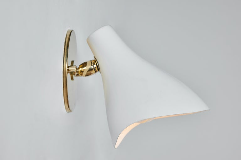 Pair of Gino Sarfatti Model #10 Sconces for Arteluce For Sale 1