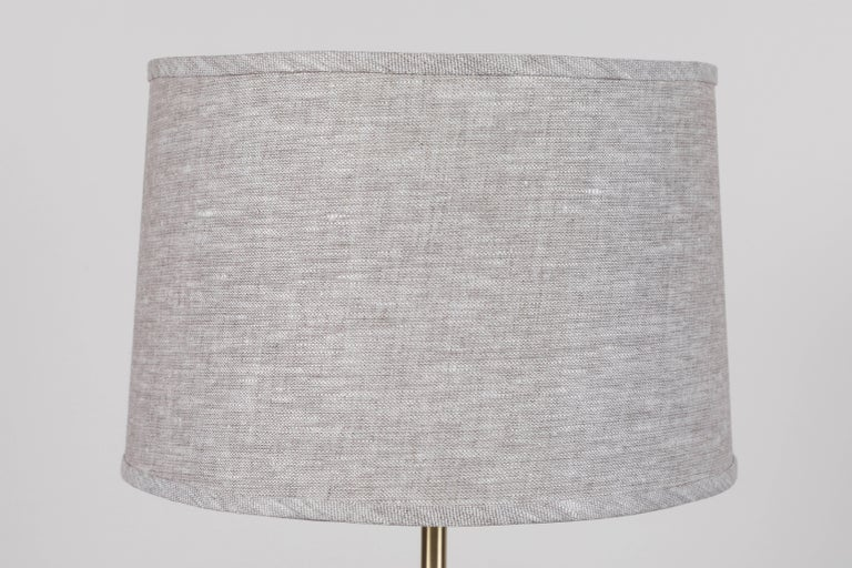 Mid-Century Modern Pair of Gio Lamps by Stone and Sawyer For Sale