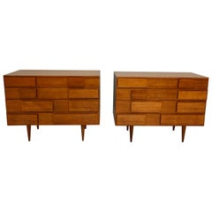 Pair of Gio Ponti Chests for Singer & Sons, Model 2129, circa 1955