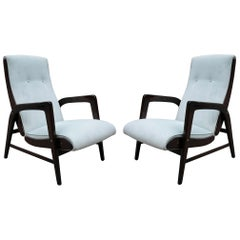 Pair of Gio Ponti Designed Armchairs