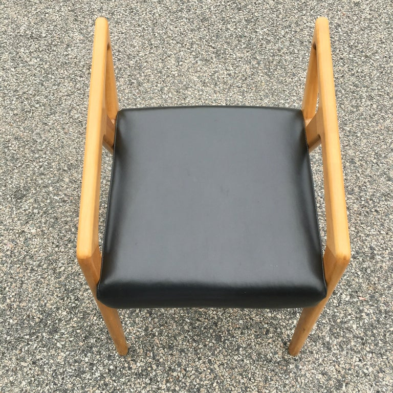 Pair of Gio Ponti Style Stools For Sale 1