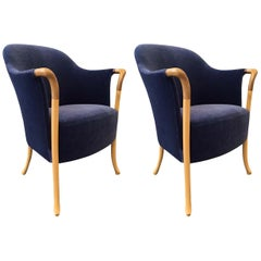 Pair of Giorgetti Progetti Armchairs