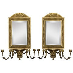 Pair of Girandole Mirrors