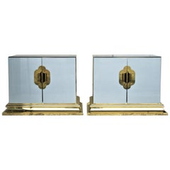 Hollywood Regency Cabinets by Ello