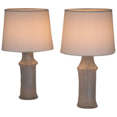 Pair of Glass Lamps by Timo Sarpaneva