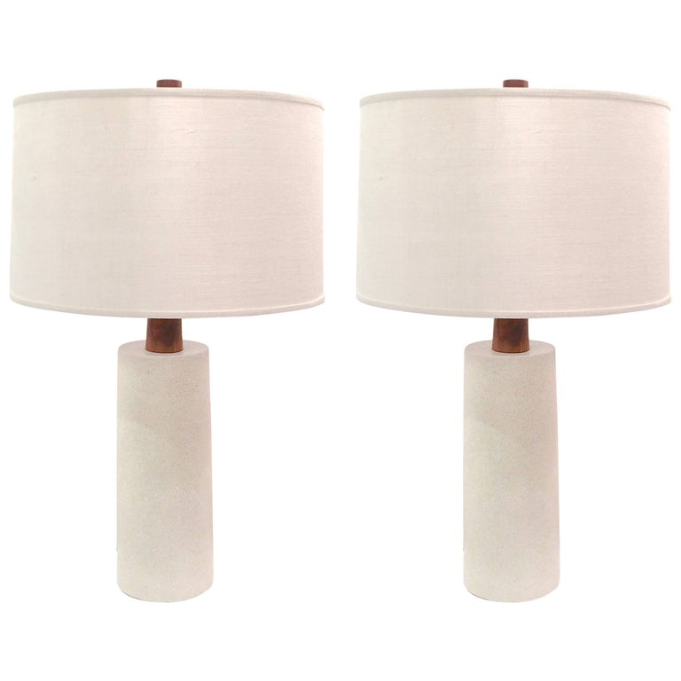 Pair of Grand Lamps by Jane and Gordon Martz for Mashall Studios