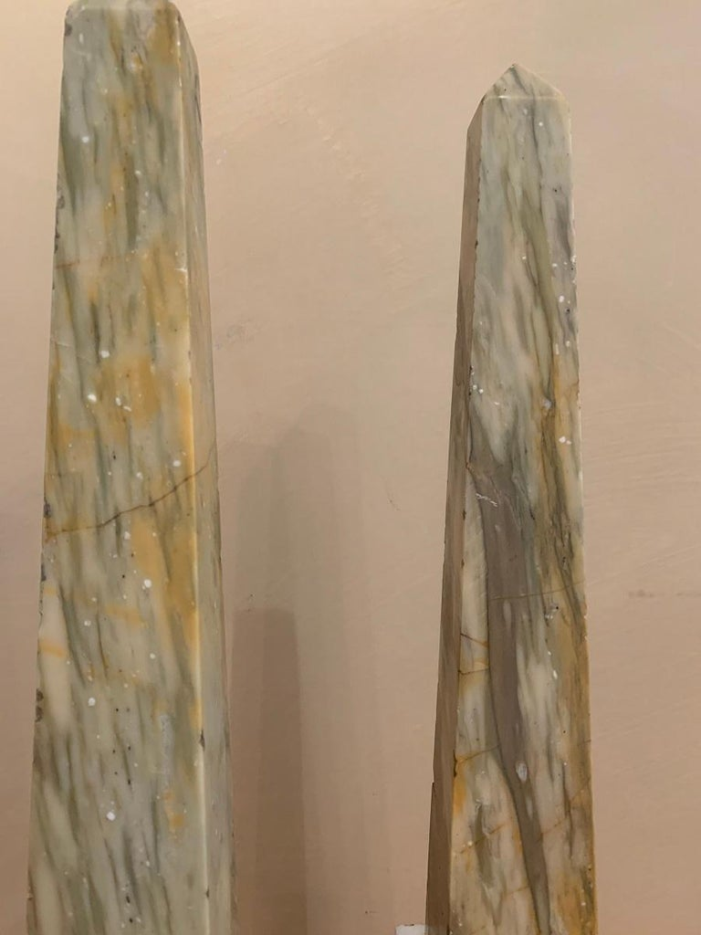 19th Century Pair of Grand Tour Obelisks For Sale