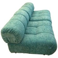 Pair of Green Armchairs Designed by Giuseppe Munari for Munari, 1960s