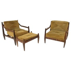 Astounding Jean Gillon Midcentury Brazilian Amazonas Armchair With Inzonedesignstudio Interior Chair Design Inzonedesignstudiocom