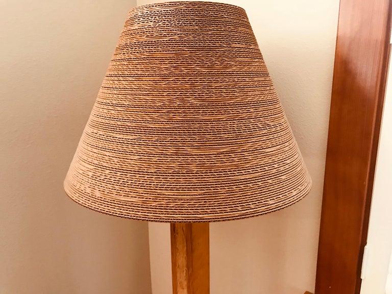 Pair of Gregory Van Pelt Gehry 1970s Floor Lamps For Sale 3