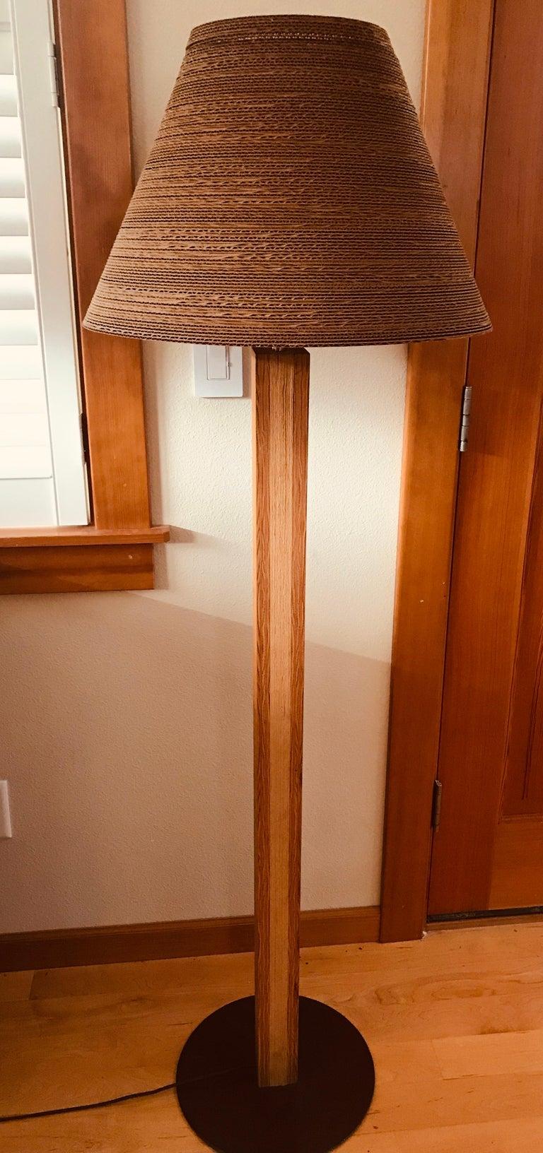 Pair of Gregory Van Pelt Gehry 1970s Floor Lamps For Sale 5